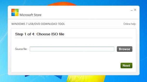 Screenshot che mostra come fare per formattare PC Windows 7