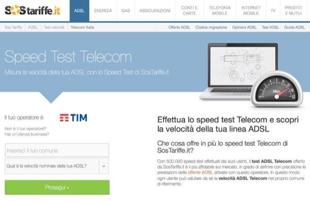 Come aumentare velocità ADSL