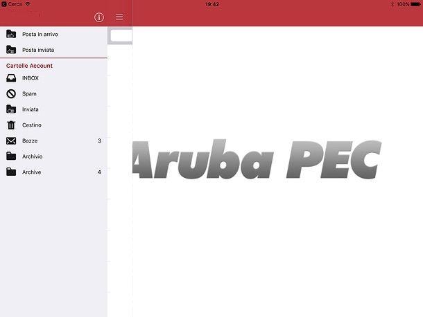 Come configurare PEC Aruba