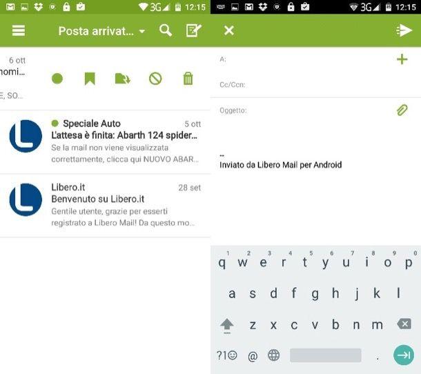 Come configurare mail Libero su Android