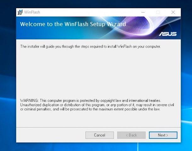 Come aggiornare BIOS ASUS