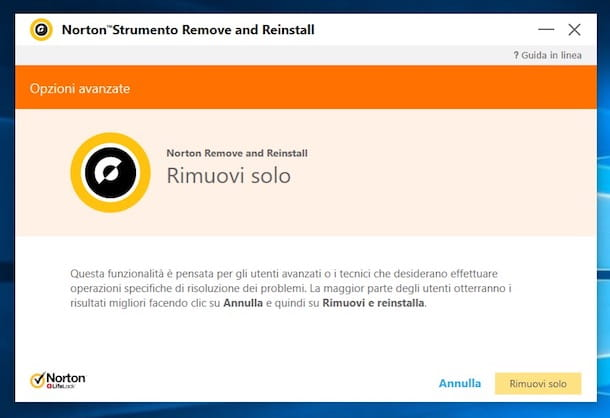 Come disinstallare Norton