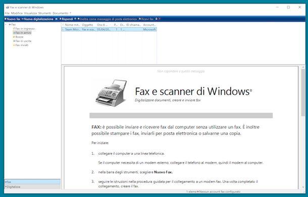Fax e scanner