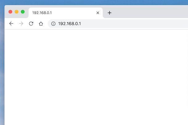 Indirizzo IP modem