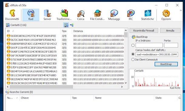 Come aggiornare lista server eMule