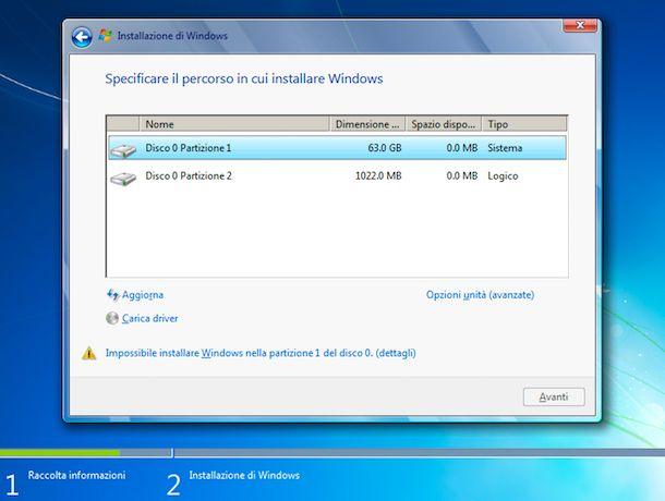 Installazione di Windows su Ubuntu
