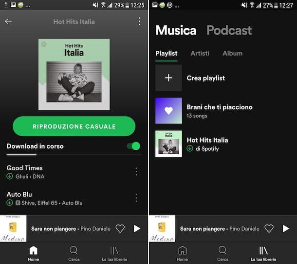 App Spotify Android