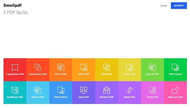 Come creare PDF gratis