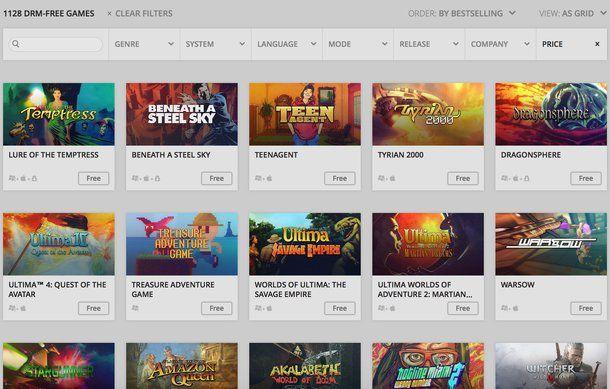 i migliori siti per scaricare giochi gratis per pc