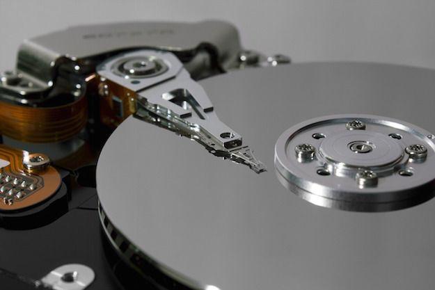 Foto di un hard disk