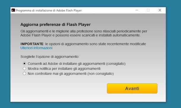 adobe flash player download gratis italiano per windows xp