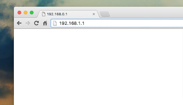 Come configurare modem Infostrada