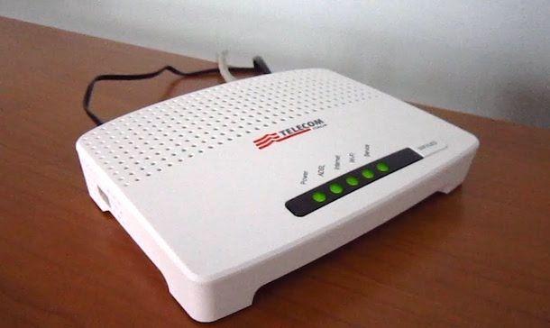 Come configurare modem Telecom