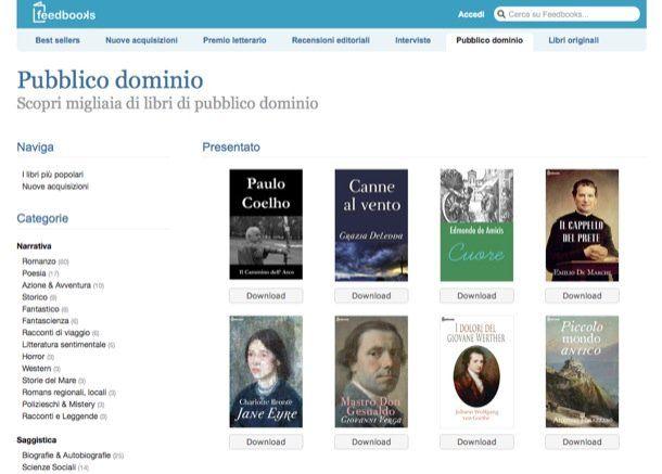 Come leggere libri online gratis