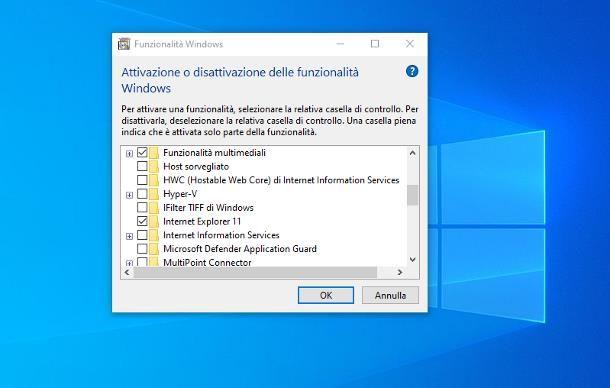 Come installare Internet Explorer