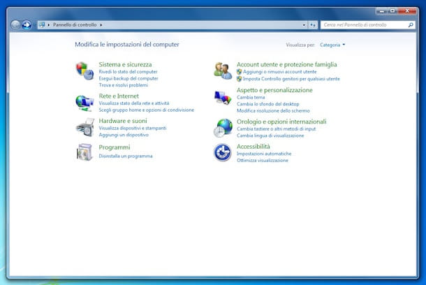 Screenshot che mostra come installare Internet Explorer