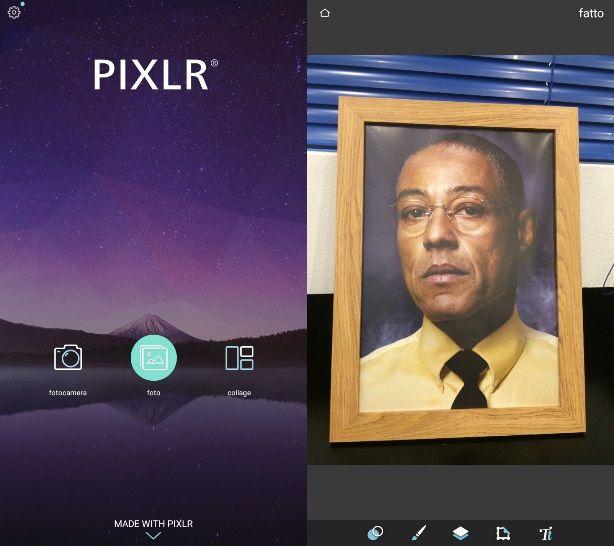 Pixlr si pone come validissima alternativa a VSCO Cam, SnapSeed e tutte le  altre applicazioni di fotoritocco avanzate per Android.