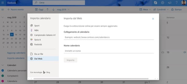 Sincronizzare calendario Gmail e Outlook
