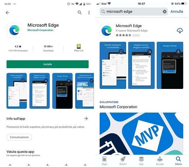 Come installare Internet Explorer su Android, iOS e iPadOS