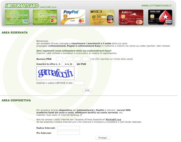 Come fare la carta PayPal