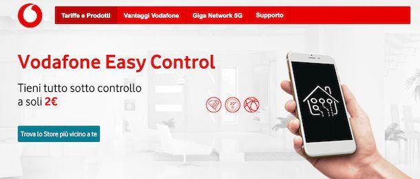 Vodafone Easy Control
