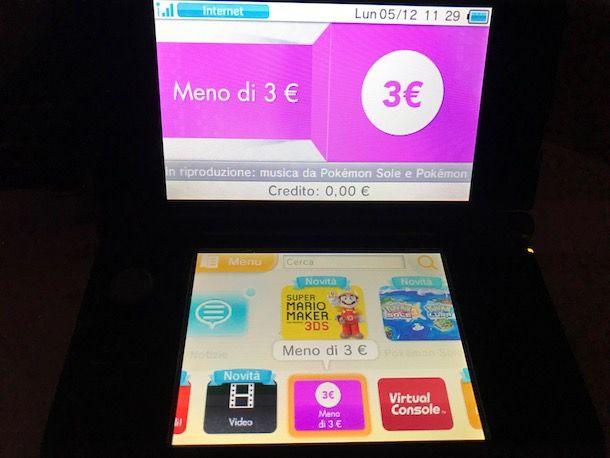 Come scaricare giochi Nintendo DS