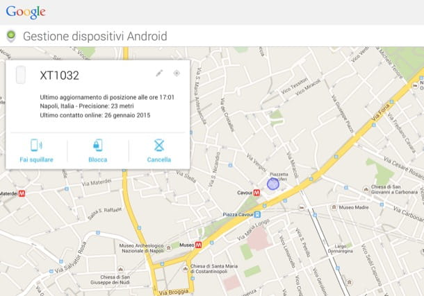 Come eliminare account Google Android