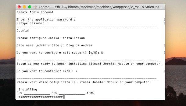 Installare Joomla su Mac