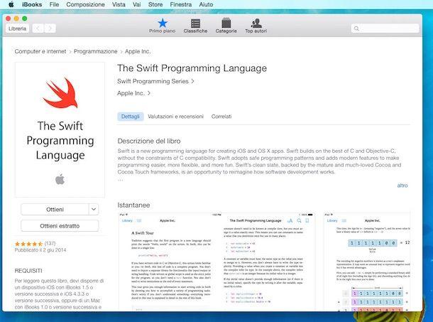 Screenshot che mostra come creare app iPhone