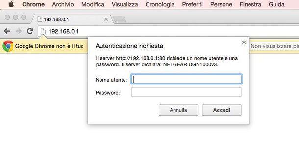 Come configurare router Netgear