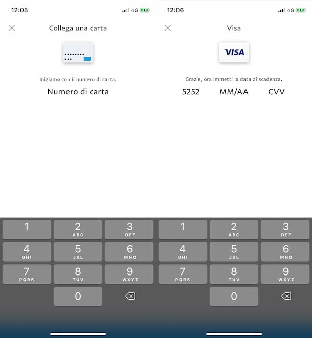 Aggiungere carta Postepay su PayPal
