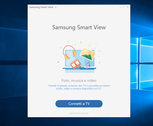 Come collegare PC a TV Samsung