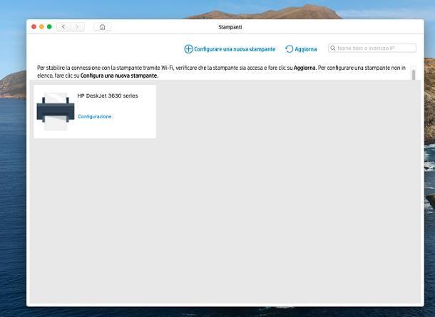 Come installare stampante WiFi su Mac