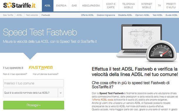 Verifica copertura Fastweb