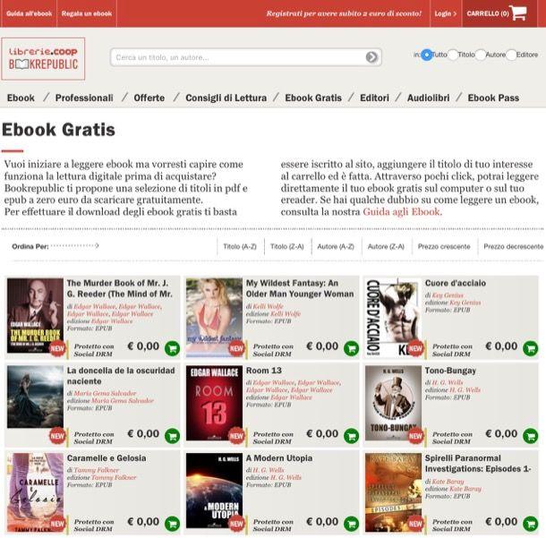 Ebook Gratis Senza Registrazione