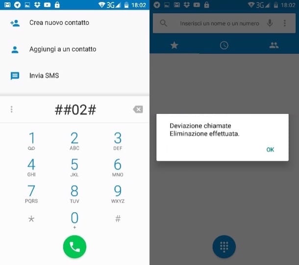 Disattivare segreteria Vodafone