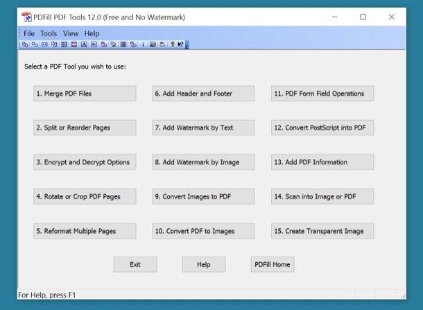 Modificare PDF
