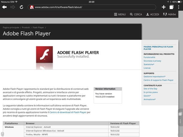 how to download flash player on ipad