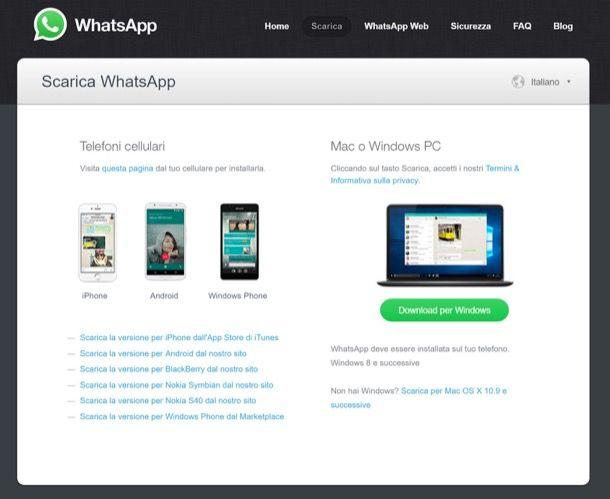 Come usare WhatsApp per PC e Mac