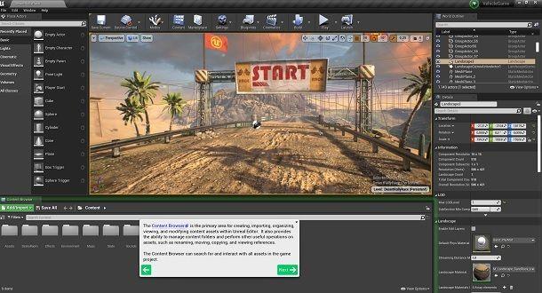 Come creare un gioco per PC Unreal Engine