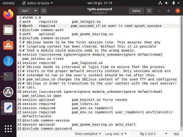Come avere i permessi di root su Ubuntu