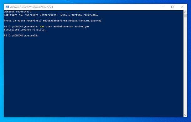 Come avere i permessi di root su Windows