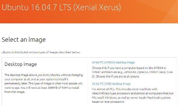 Ubuntu download: 16.04