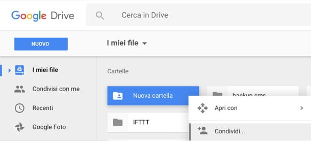 Come condividere file con Google DriveCome condividere file con Google Drive