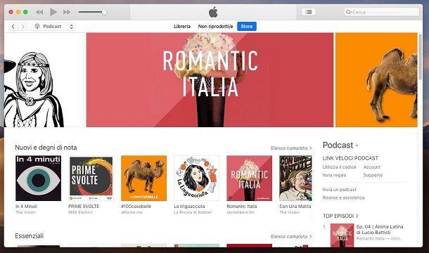 Scaricare musica da iTunes gratis