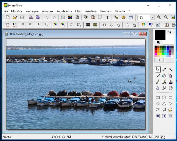 modificare foto gratis per mac