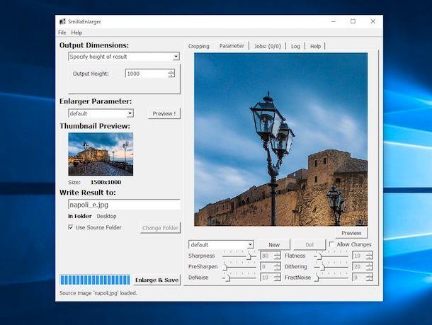 Come aumentare pixel foto