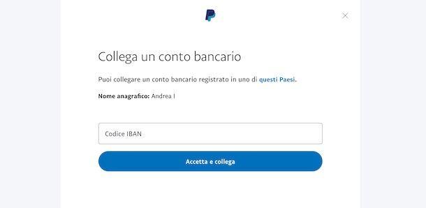 Come creare un account PayPal senza carta di credito