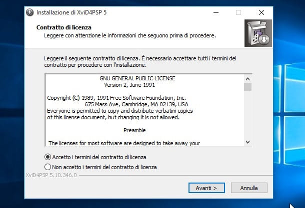 Screenshot che mostra come convertire MKV in MP4 su Windows