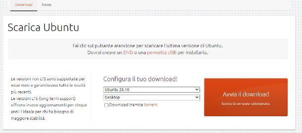 Ubuntu download: ISO